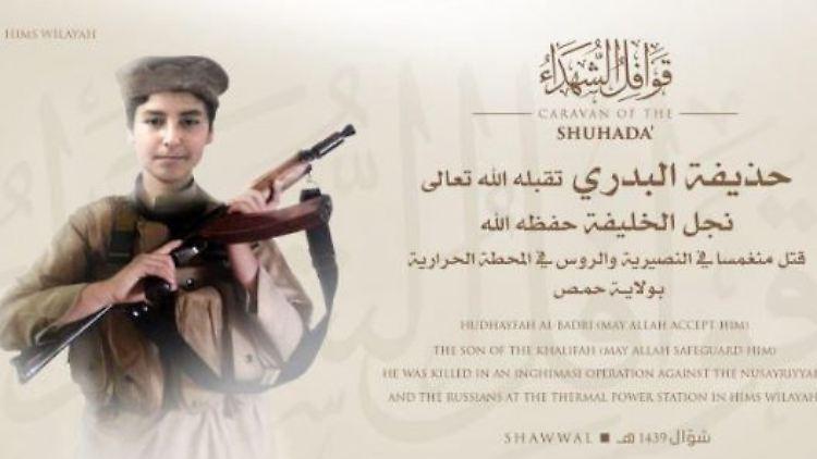Gefechte Im Kraftwerk Von Homs Sohn Von Is Chef Al Bagdadi Ist