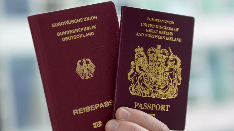 Infolge des Brexits beantragen immer mehr Briten zusätzlich die deutsche Staatsbürgerschaft
