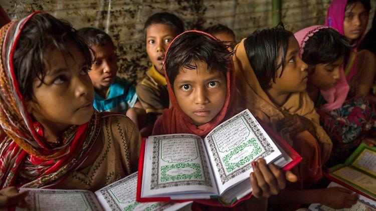 Gerade für die Kinder von Geflüchteten ist der Zugang zu Schulbildung besonders wichtig, so der UN-Flüchtlingskommissar.