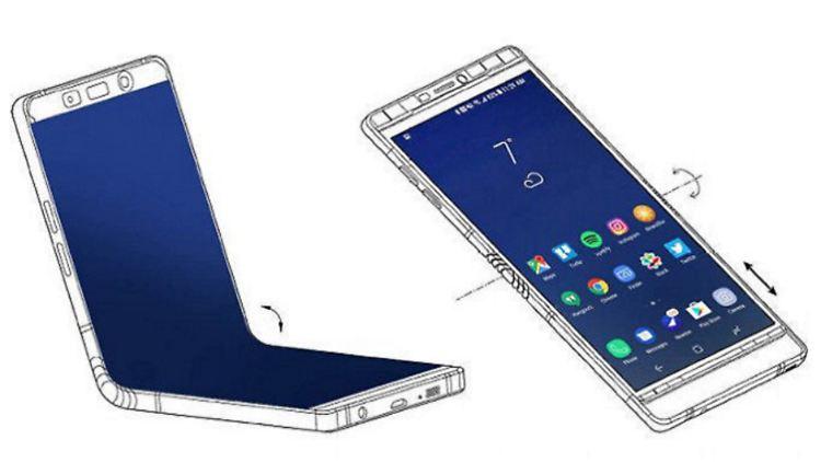 Samsung Galaxy X faltbares Smartphone.jpg
