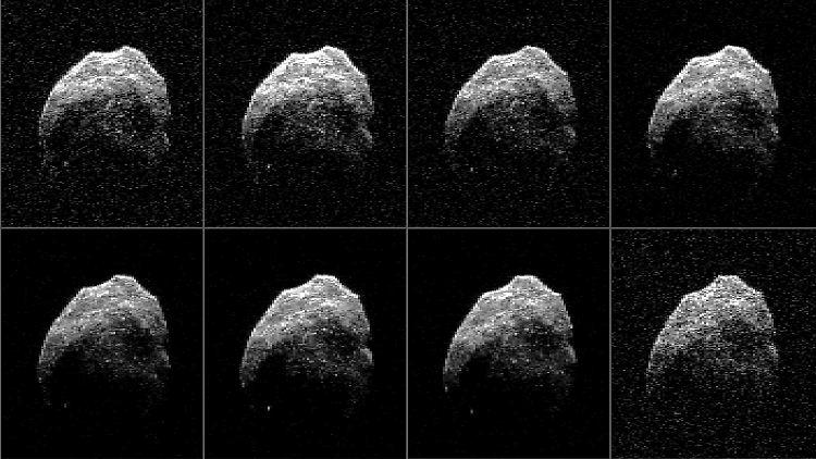 Durchmesser Von 600 Metern Totenkopf Asteroid Nähert Sich Der Erde
