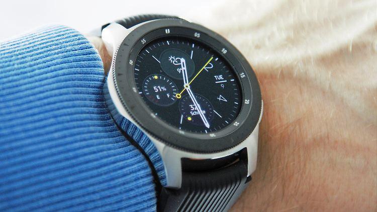 Königin Der Android Uhren Samsung Galaxy Watch Ist Klassenbeste N