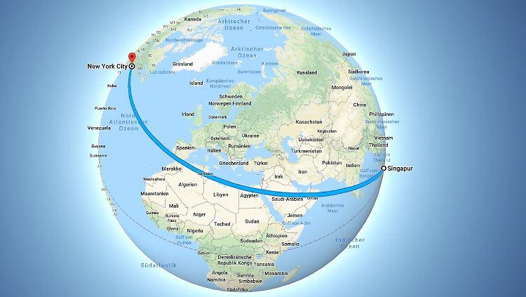 19 Stunden nonstop: Airline hebt zum längsten Flug der Welt ...