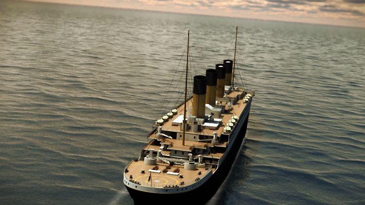 Nachbau Fährt Auf Unglücksroute Titanic Ii Geht 2022 Auf