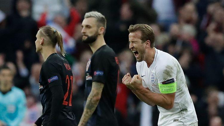 Nations League Drama In Gruppe 4 England Jubelt Dank Kane
