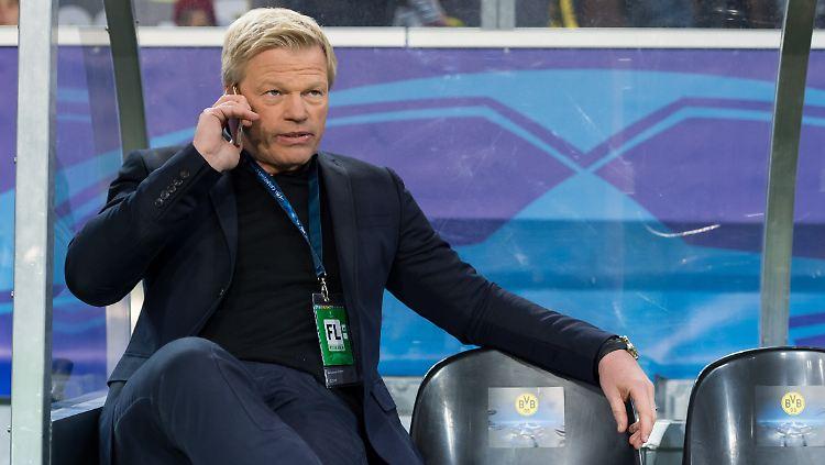 Wenn Rummenigge sein Amt 2019 aufgeben sollte, könnte ihn Kahn als neuer starker Mann beerben.