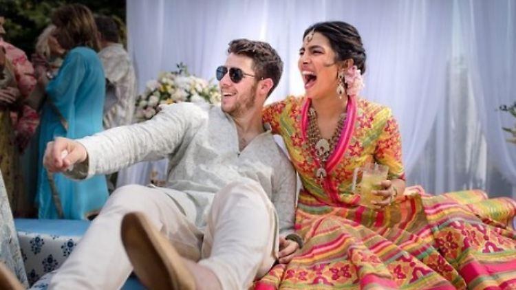 Trauung Und Hindu Zeremonie Priyanka Chopra Und Nick Jonas Sagen