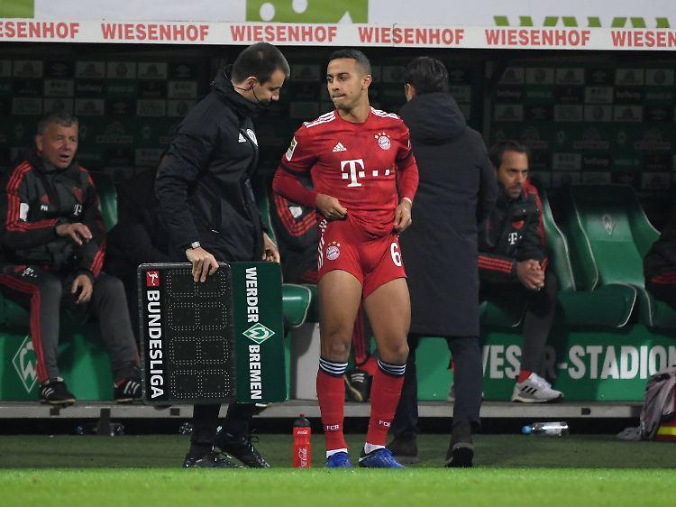 24790ee0173fb Thiago  Beim FC Bayern