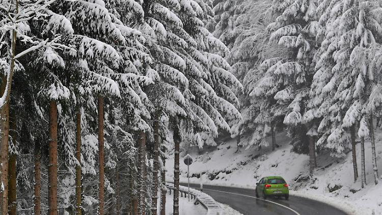 Regen, Schnee, vielleicht Glätte Weiße Weihnacht ist noch möglich