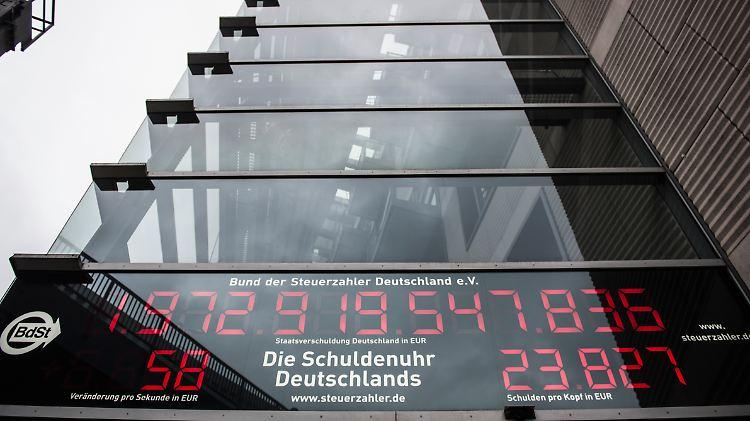 Bürger schenken Deutschland 600'000 Euro zur Schuldentilgung