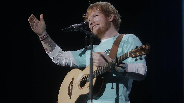 Großbritannien - Vorwürfe: Hat Ed Sheeran bei Marvin Gaye abgekupfert?