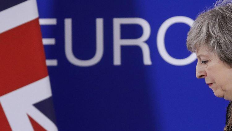 Brexit-Poker: Warum Theresa May in einer Woche weg sein könnte