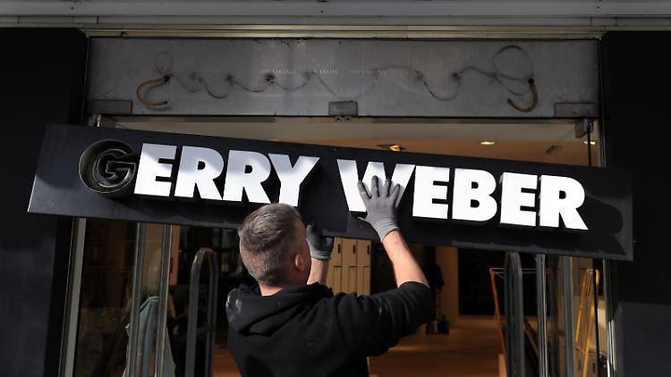 Modehersteller Gerry Weber beantragt Insolvenz in Eigenverwaltung