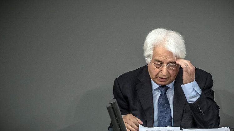 Gedenken an NS-Opfer im Bundestag: Saul Friedländer appelliert an Deutsche