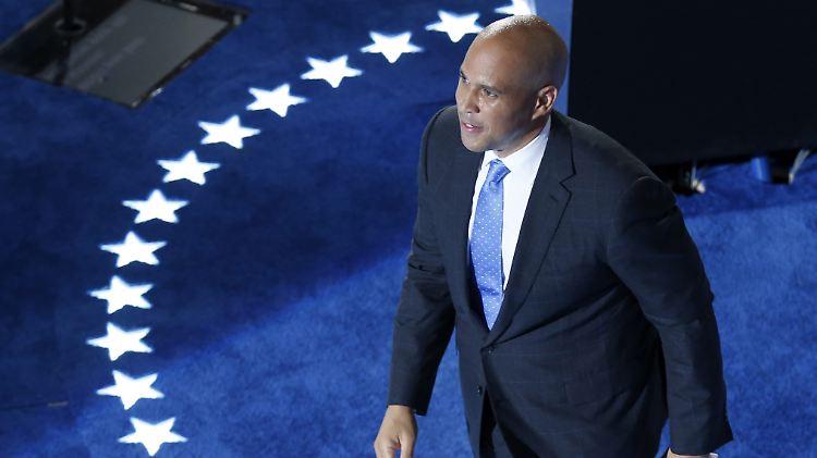 Auf dem Weg ins Rennen um die Präsidentschaft: US-Senator Booker steigt für die Demokraten in den Ring.