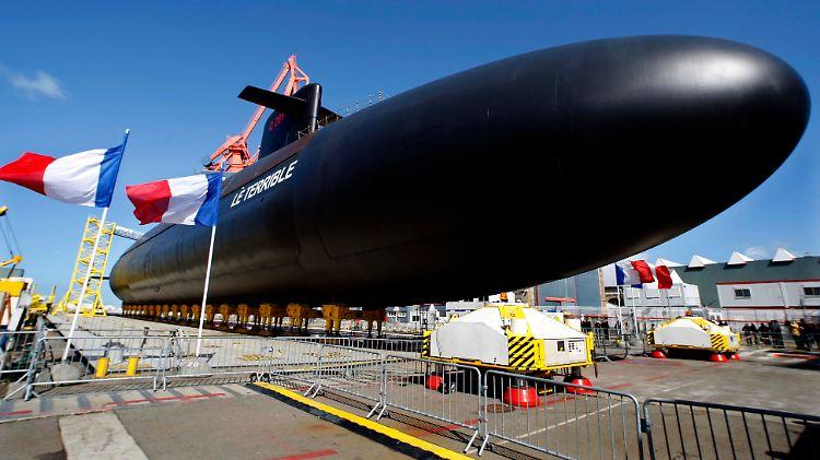 Französisches Atom-Unterseeboot