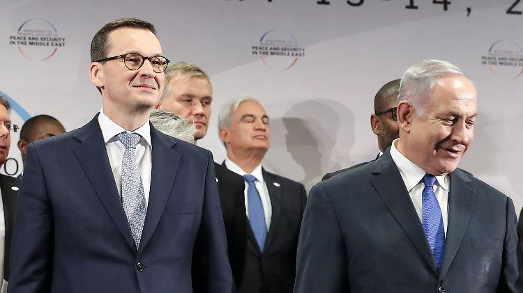 Warschau droht mit Gipfelabsage:Polen und Israel streiten über Holocaust