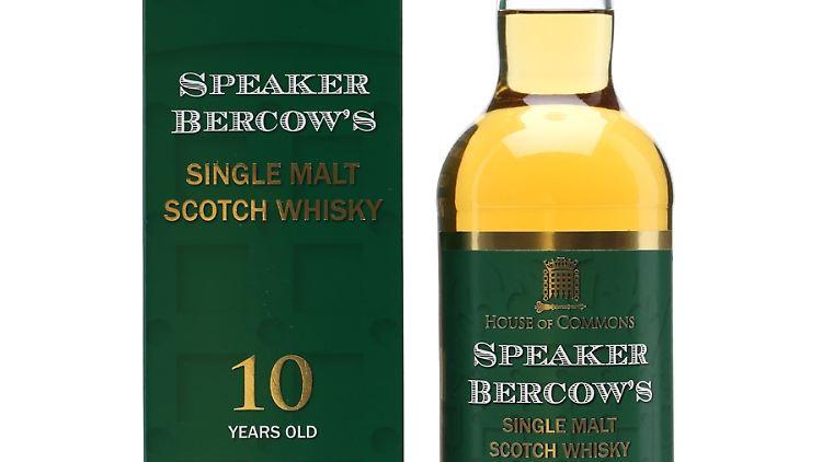 Der Whisky von Bercow kostet 29 Pfund.