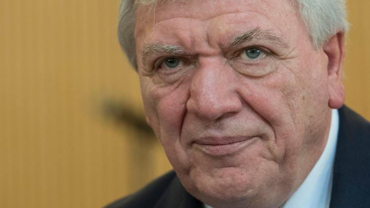 Volker Bouffier wurde erst Mitte Januar für weitere fünf Jahre erneut zum Ministerpräsidenten von Hessen gewählt.