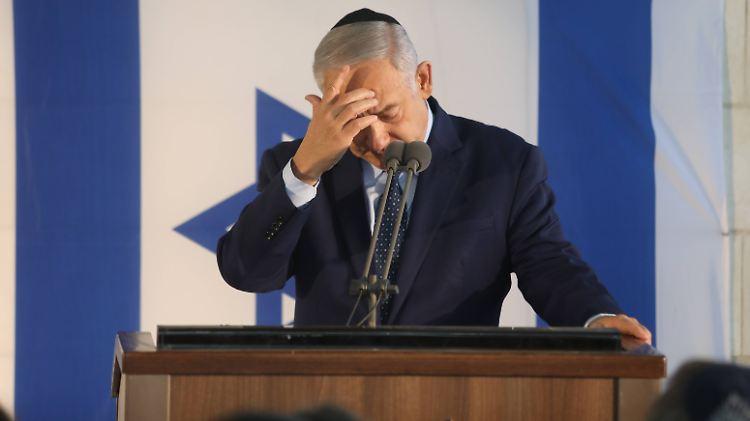 Mitten im Wahlkampf: Anklagepläne gegen Israel-Premier Netanjahu