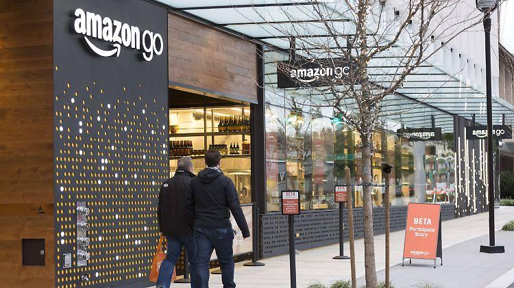 Offline-Shopping: Amazon soll neue Supermarktkette planen