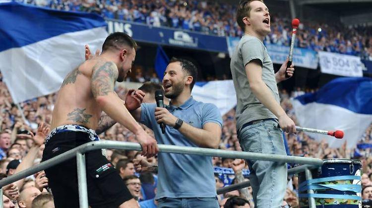 Domenico Tedesco war mal sehr beliebt auf Schalke.