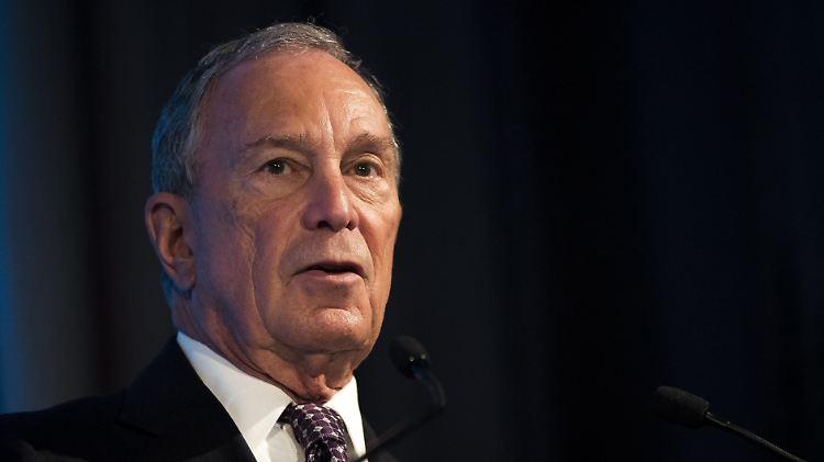 USA - Michael Bloomberg will nicht mehr US-Präsident werden