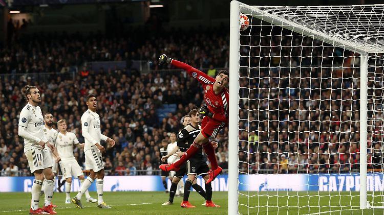 Der Moment, in dem für Real alles vorbei war: Lasse Schöne erzielte das vierte Tor für Ajax Amsterdam