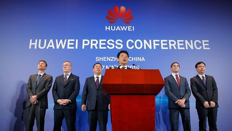 Huawei verklagt US-Regierung - weil Behörden keine Technologie der Chinesen nutzen dürfen