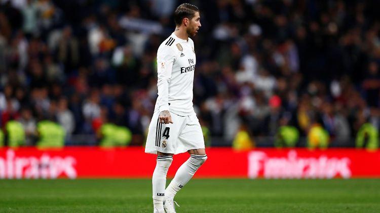 Um Sergio Ramos könnte es bei Real einsam werden.