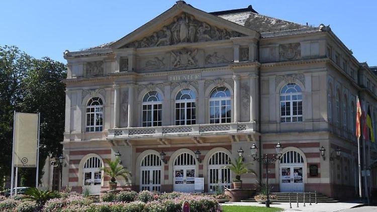 Das Theater Baden-Baden (Baden-Württemberg). Foto: Uli Deck/Archiv