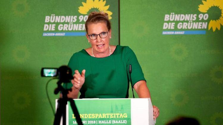 Britta Heide-Garben (Bündnis 90/Die Grünen). Foto: Johannes Stein/Archiv