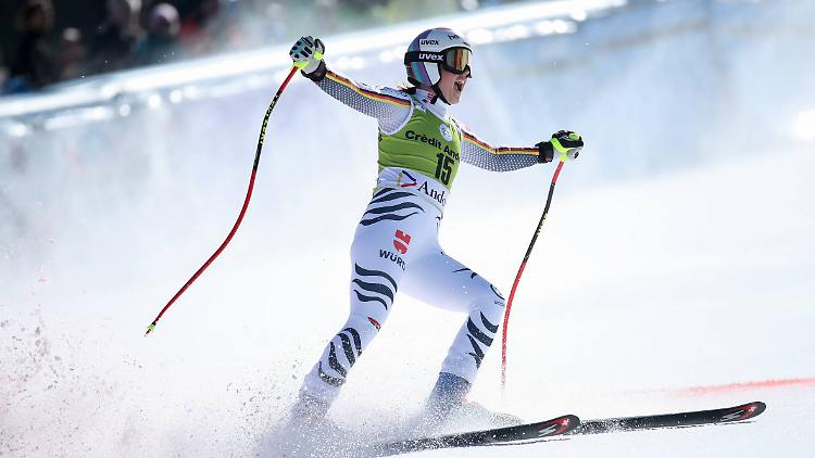 Erster Sieg im vorletzten Saisonrennen: Viktoria Rebensburg gewinnt den Super-G von Soldeu.