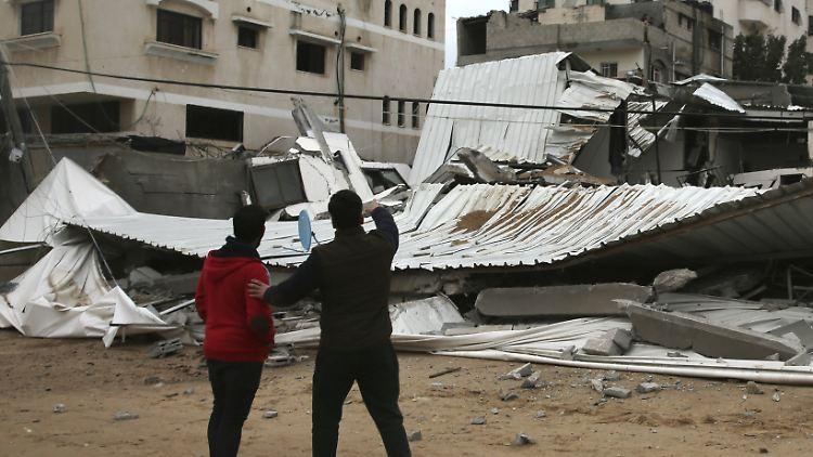 Israel: Palästinenser schossen Raketen von Gaza auf Tel Aviv