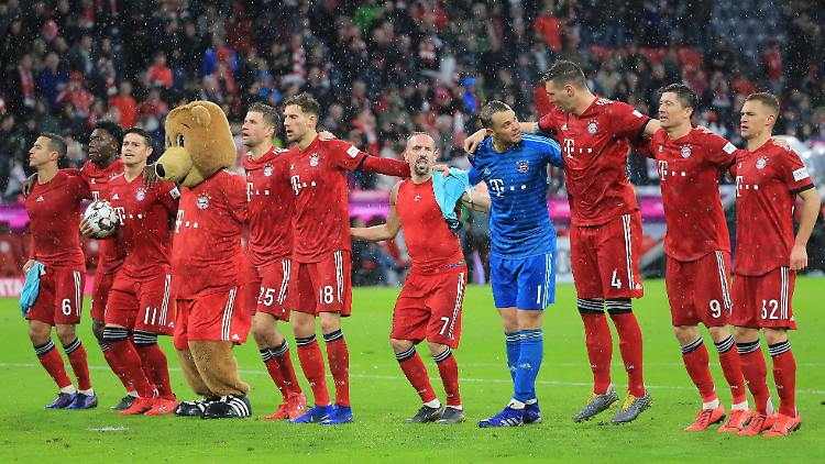 Wenn der FC Bayern Spaß beim Fußball hat, kann es derzeit für die Gegner bitter werden. Zumindest in der Bundesliga.