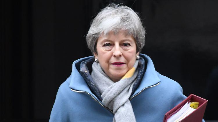 Brief an die EU: May beantragt Brexit-Aufschub bis 30. Juni