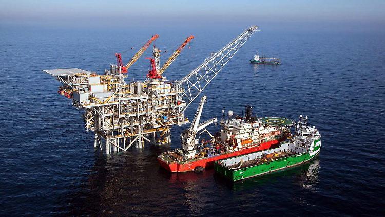 Israel verfügt über mehrere Gasfelder vor seiner Küste, darunter Tamar.