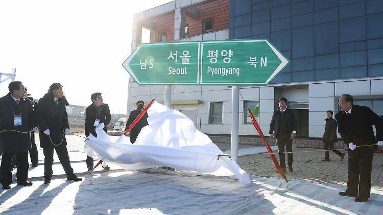 Um Druck auf Südkorea auszuüben?: Nordkorea kehrt ins Verbindungsbüro zurück