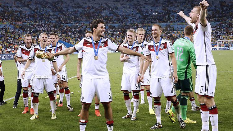 Die Weltmeister-Klasse von 2014: Drei sind noch dabei, drei seit Kurzem nicht mehr. Und der Rest?