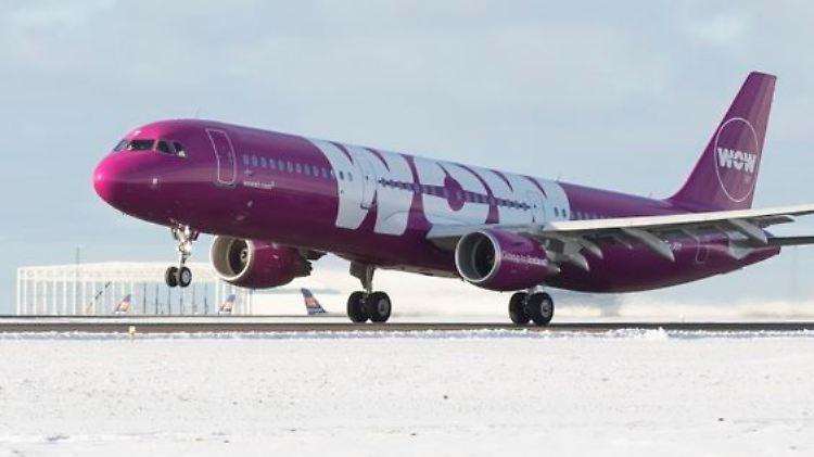 Flugstreichungen - Billigflieger Wow Air stellt Betrieb ein