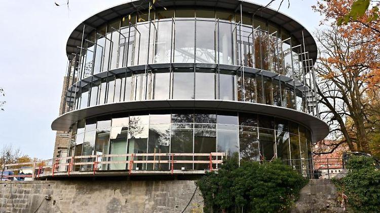 Das neue Globe-Theater in Schwäbisch Hall. Foto: Jan-Philipp Strobel/Archivbild