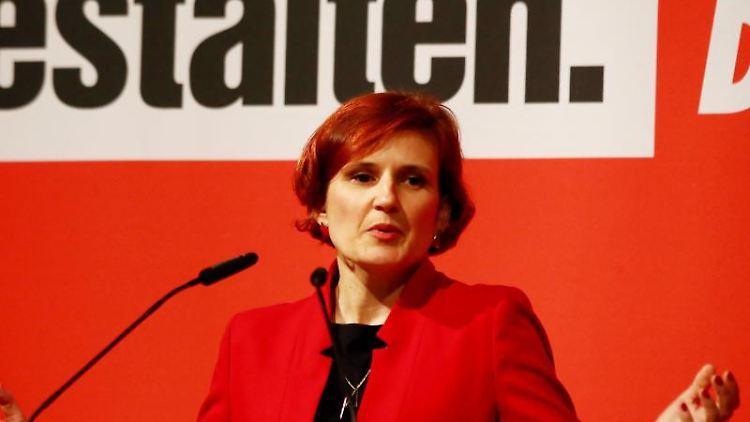 Katja Kipping, Bundesvorsitzende der Partei Die Linke.Foto:Bodo Schackow