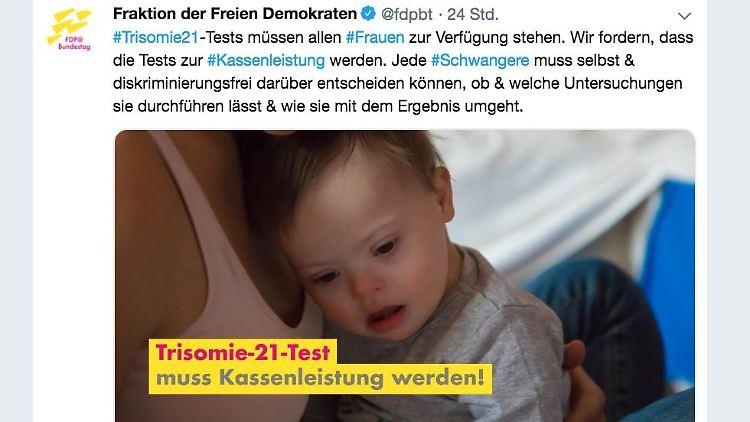 Schürt Angst vor Behinderung: Kopfschütteln über FDP
