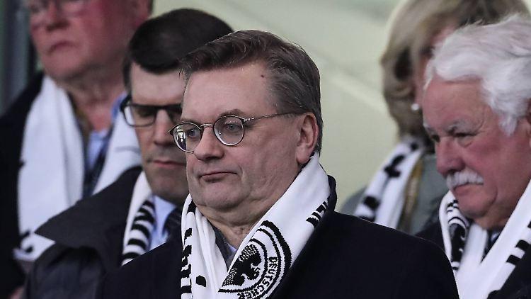 Reinhard Grindels Rücktritt sei