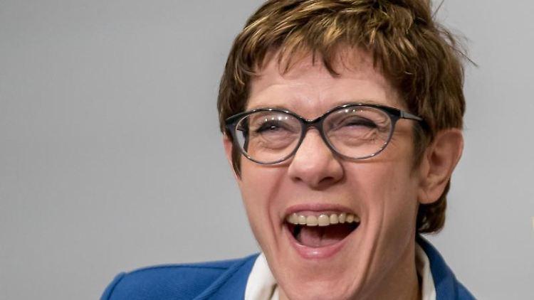 Annegret Kramp-Karrenbauer, Bundesvorsitzende der CDU. Foto: Michael Kappeler/Archiv