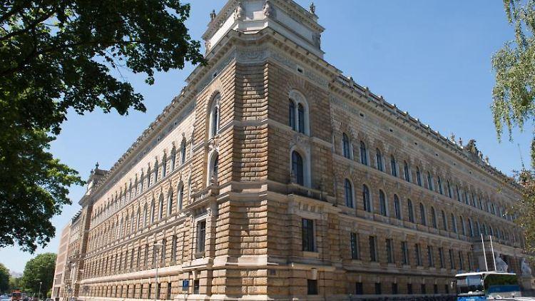 Das Landgericht in Dresden. Foto: Sebastian Kahnert/Archiv