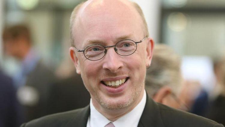 Christian Pegel (SPD), Minister für Energie, Infrastruktur und Digitalisierung in Mecklenburg-Vorpommern. Foto: Danny Gohlke/Archivbild