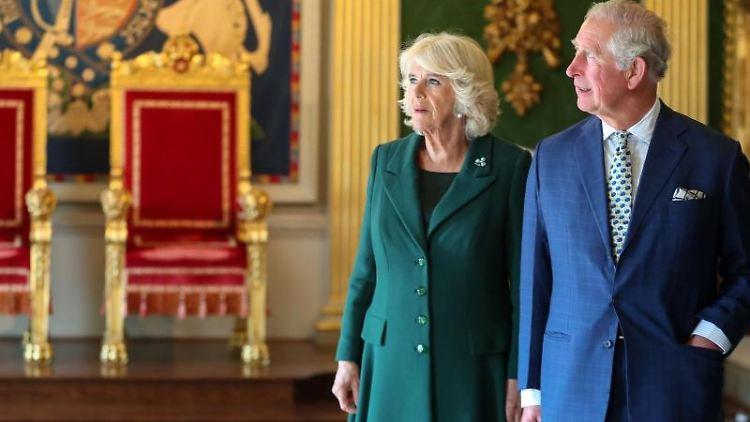 Der britische Prinz Charles und Camilla, Herzogin von Cornwal. Foto: Chris Jackson/Archivbild