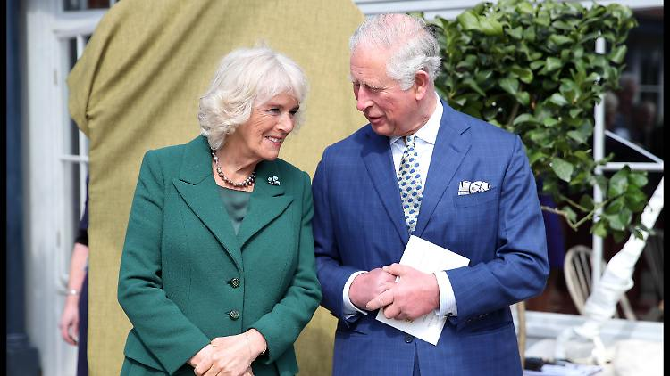 Zwei Royals reisen nach Deutschland: Camilla und Charles