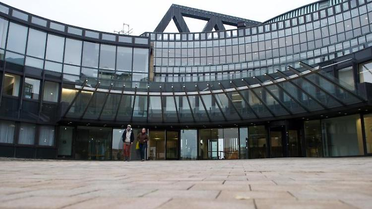 Der nordrhein-westfälische Landtag. Foto: Jan-Philipp Strobel/Archivbild